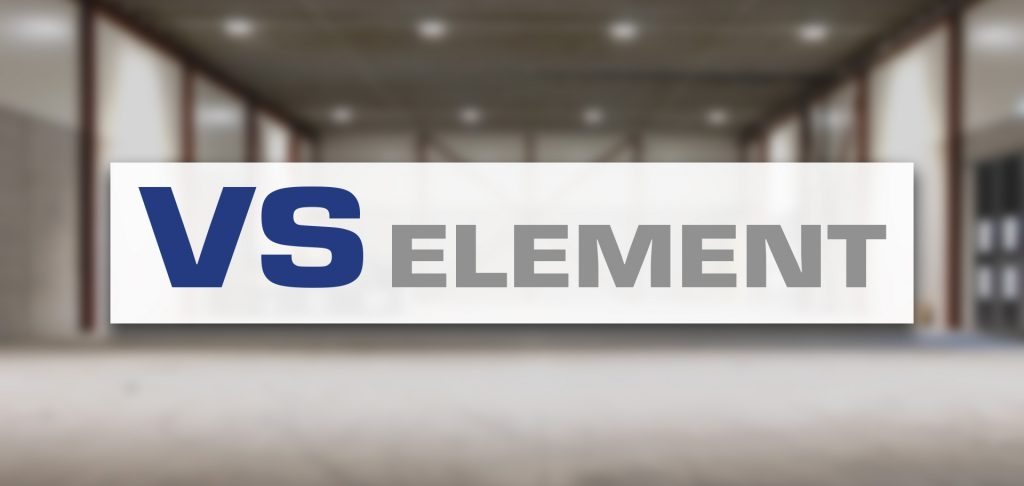 Ny logo VS ELEMENT
